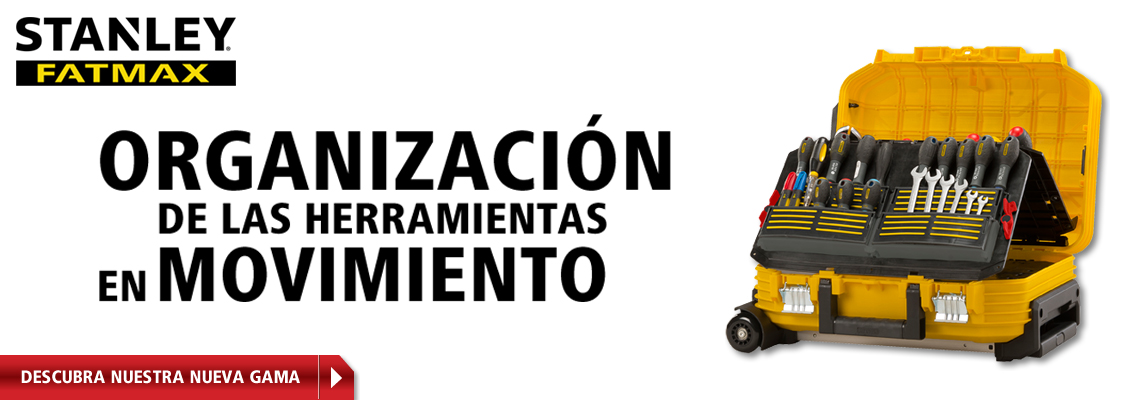 Maleta para herramientas con ruedas FatMax